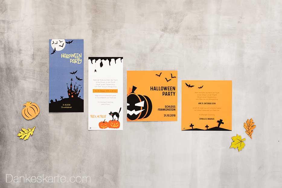 So gelingt die perfekte Halloweenparty - Dankeskarte.com