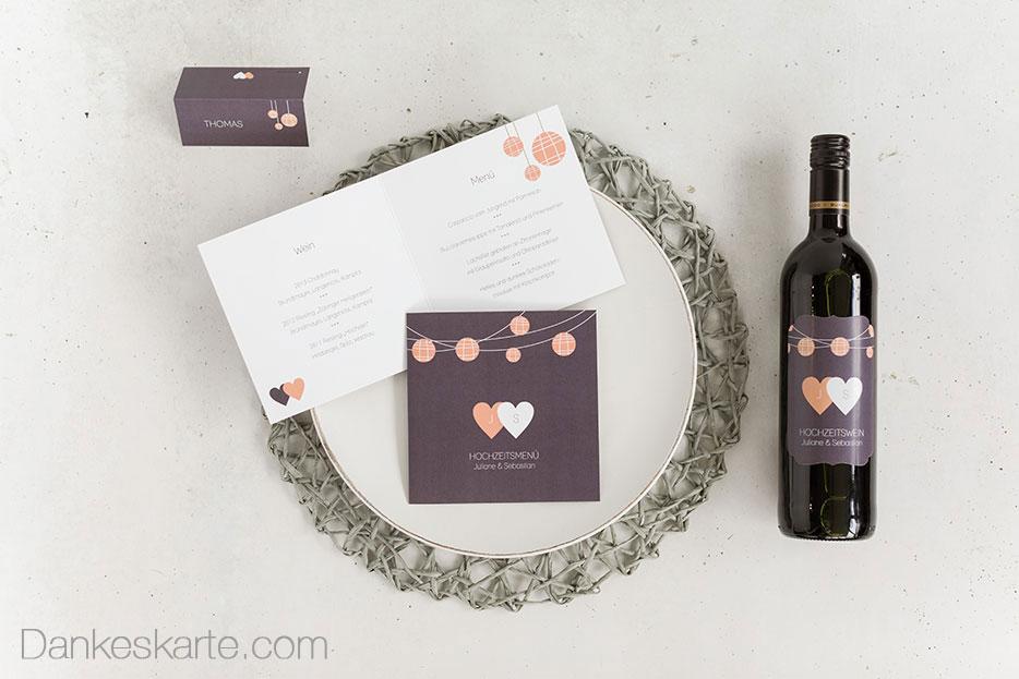 Adressetiketten für Ihre Hochzeitskarten