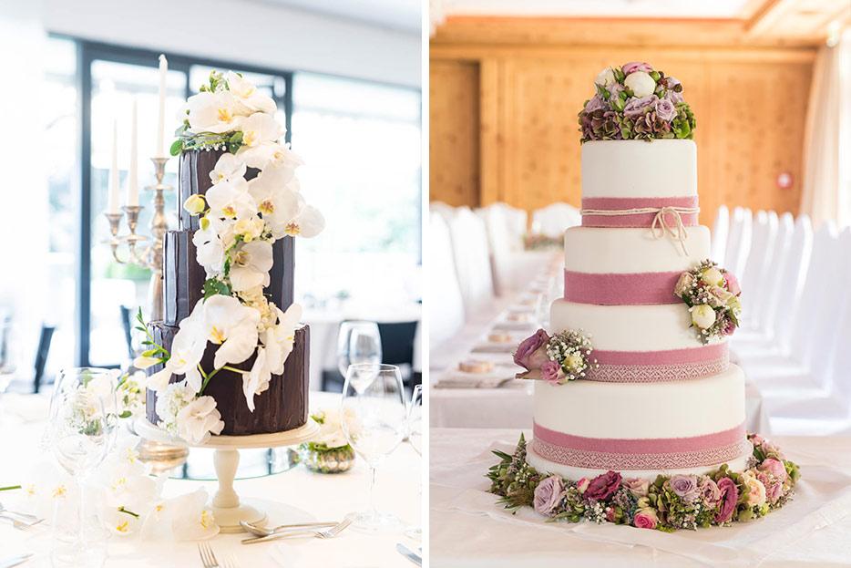 Hochzeitstorte – schön sein ODER gut schmecken? Geht denn nicht beides?