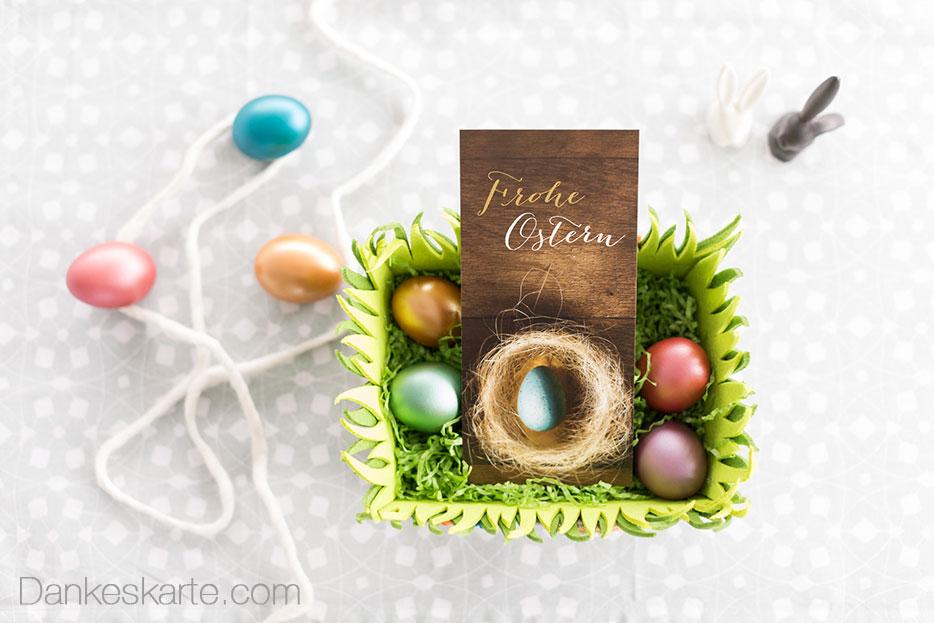 Osterkarten selbst online gestalten