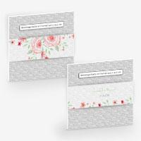 Banderolen für Karten und Taschentücher