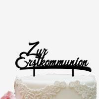Cake Topper für die Erstkommunion