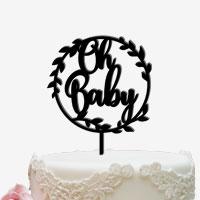Cake Topper für die Geburt