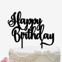 Cake Topper für den Geburtstagstorte