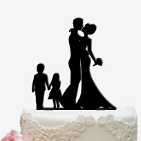 Cake Topper für die Hochzeitstorte