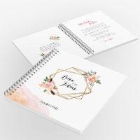 Gästebücher für die Hochzeit