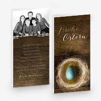 Osterkarten für Familien