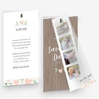 Save The Date Karten für die Hochzeit