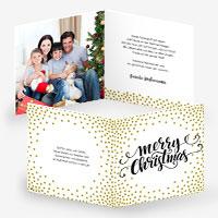 Weihnachtskarten für Familien und Firmen