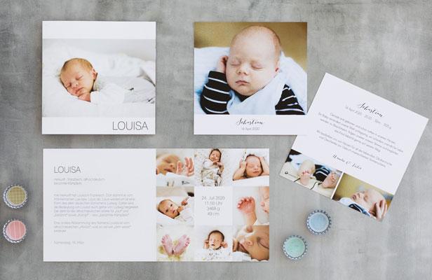 Geburtskarten schaffen bleibende Erinnerungen - Dankeskarte.com