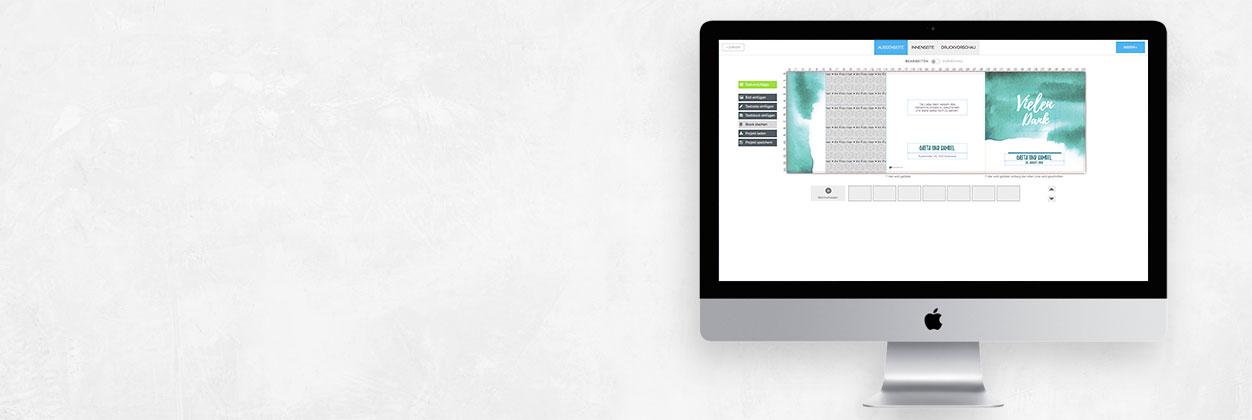 Danksagungskarten der ART-Collection einfach selbst online gestalten und drucken lassen