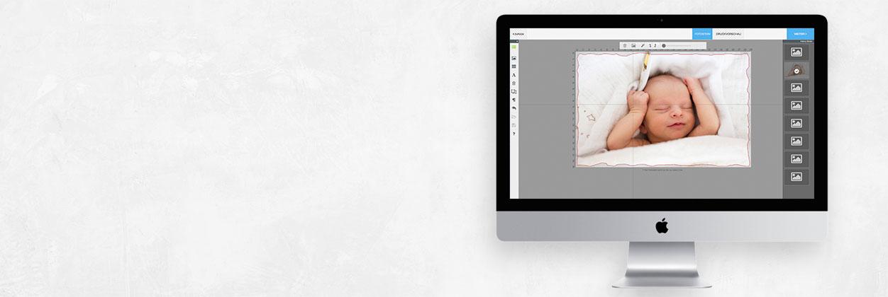 Foto auf Stein einfach selbst online gestalten und drucken lassen