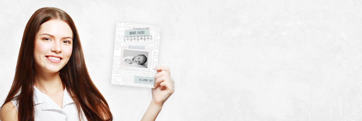 In nur 3 Schritten zur individuellen Geburtskarte