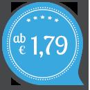 Hochzeitseinladungen mit Glanzfolierung schon ab € 1.79