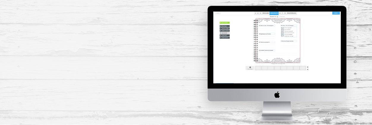 Edle und individuelle Gästebücher online gestalten und drucken lassen