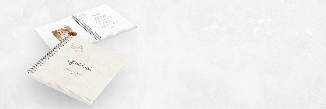 In nur 3 Schritten zum individuellen Gästebuch für Ihre Hochzeit