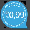 Hochzeitskarten schon ab € 0.99