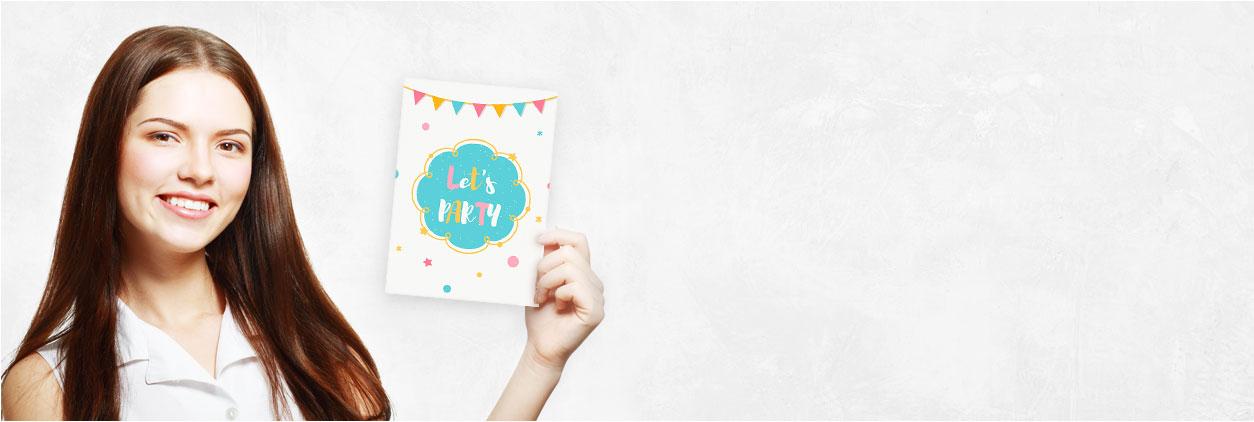 In nur 3 Schritten zur individuellen Kindergeburtstagseinladung