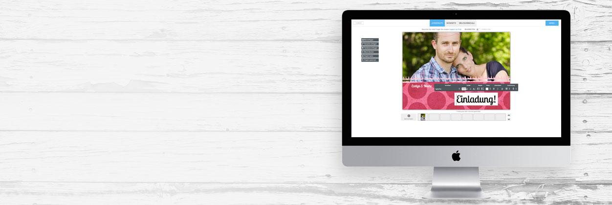 Lasercut-Karten für Ihre Hochzeit einfach selbst online gestalten und drucken lassen