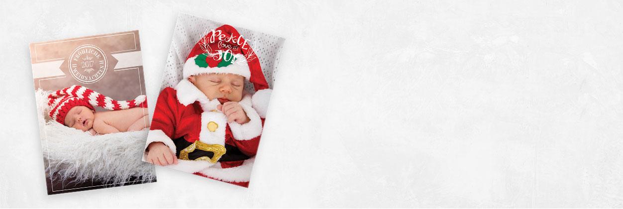 Einzigartige Designs für Weihnachtskarten für Ihre Familie