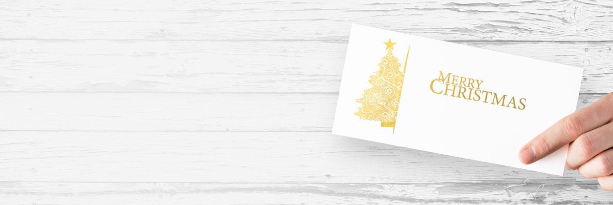 Weihnachtskarten unverbindlich ausprobieren