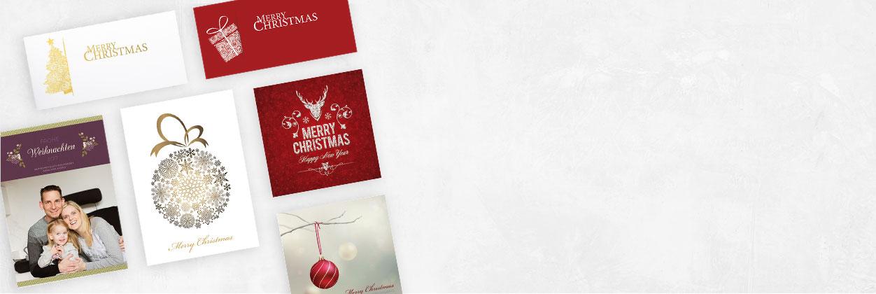 In nur 3 Schritten zur individuellen Weihnachtskarte