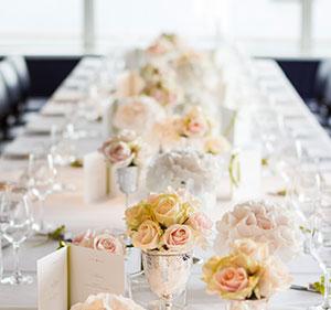 Einmalige Tischkarten für die Hochzeitstafel