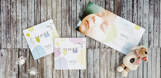 Geburtskarten im Comic Stil, die Ihre Familie zum Staunen bringen werden