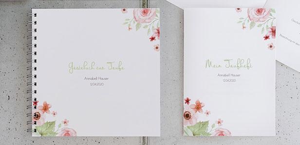 Gästebücher für die Taufe, die Ihre Familie zum Staunen bringen werden