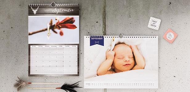Fotokalender für Babys