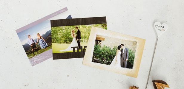 Dankeskarten im Vintage-Stil, die Ihre Gäste zum Staunen bringen werden