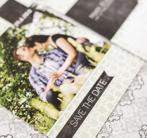 Einmalige Hochzeitseinladungen für Ihre Feier