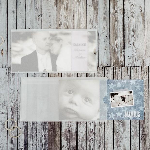 Edle Kuverts und Schuber für Ihre Hochzeitseinladungen und Dankeskarten