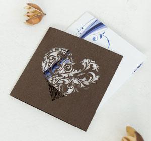 Lasercut Hüllen für Ihre Hochzeitseinladung oder Dankeskarte