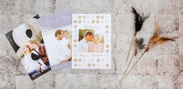 Hochzeitseinladungen Online Gestalten Drucken Lassen