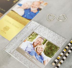 Unvergleichliche Danksagungen zur silbernen und goldenen Hochzeit