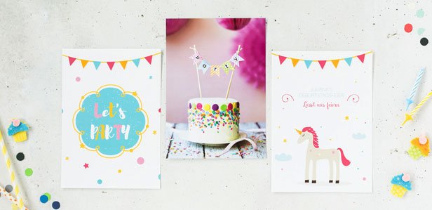 Kindergeburtstagseinladungen im verspielten Design, die Ihre Gäste zum Staunen bringen werden