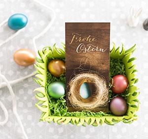 Osterkarten online gestalten und drucken lassen