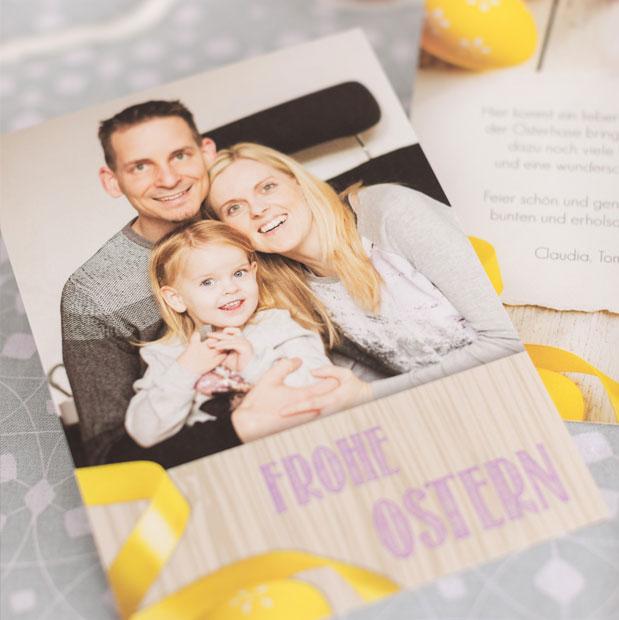 Traumhafte Osterkarten für die Familie