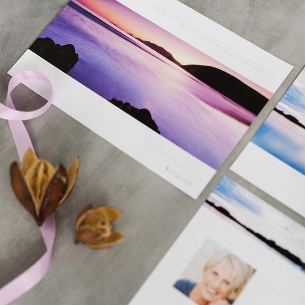 trauerkarten und danksagungskarten zur trauer online gestalten drucken lassen. Black Bedroom Furniture Sets. Home Design Ideas