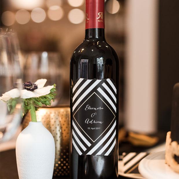 Traumhafte Weinetiketten für Ihren Hochzeitswein