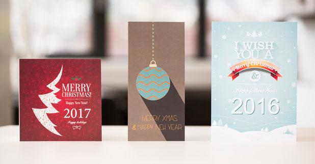 Weihnachtskarten selbst gestalten drucken lassen - Weihnachtskarten selber gestalten online ...