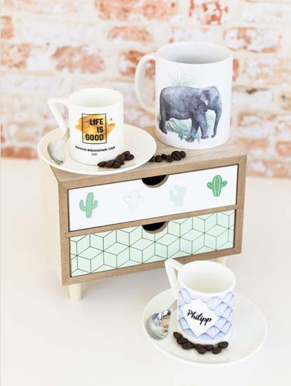 Fototassen bedrucken lassen bei Dankeskarte.com