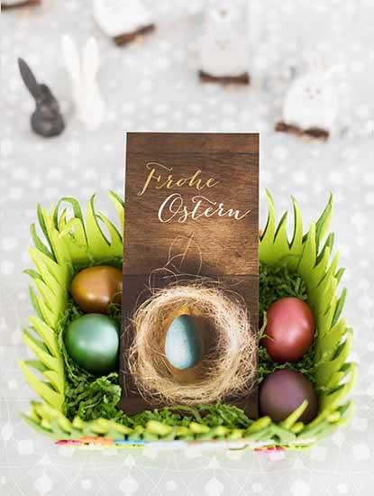 Osterkarten von Dankeskarte.com